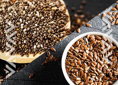 Linaza y chía: dos semillas con grandes beneficios para la salud